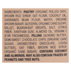 Bobo's Oat Bars Toaster Pastry - Chocolate Almond Butter - Case of 12 - 2.5 oz. HGR 02268969