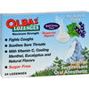 Olbas Lozenges Sugar-Free Black Currant - 24 Lozenges - Case of 12 HGR 0233049