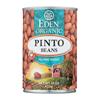 Eden Foods Organic Pinto Beans - Case of 12 - 15 oz. HGR 0236208