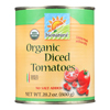Tomatoes - Organic - Diced - 28.2 oz.. - case of 12