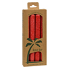 Aloha Bay Palm Tapers™ Red - 4 Candles HGR 0249094