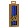 Aloha Bay Palm Tapers™ Royal Blue - 4 Candles HGR 0249151