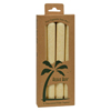 Aloha Bay Palm Tapers™ Cream - 4 Candles HGR 0249219