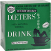 Uncle Lee's Tea China Green Dieters Tea Caffeine Free - 30 Tea Bags HGR 257121
