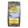 Coffee - Organic - Ground - French Roast - 12 oz.. - case of 6