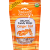 Organic Candy Drops Ginger Zest 3.3 oz - Case of 6 - 3.3 oz