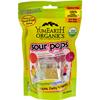 Yummy Earth Organic Super Sour Standup Lollipops - 3 oz - Case of 6 HGR 274738