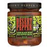 Desert Pepper Trading Medium Corn Black Bean Red Pepper Salsa - Case of 6 - 16 oz.. HGR 0275032