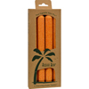 Aloha Bay Palm Tapers™ Orange - 4 Candles HGR 0278218