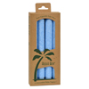 Aloha Bay Palm Tapers™ Light Blue Candles - Unscented - 4 Pack HGR 0278242