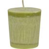Aloha Bay Votive Eco Palm Wax Candle - Lemon Verbena- Case of 12 - 2 oz. HGR 0279315