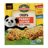 Envirokidz Crispy Rice Bars - Peanut Butter - Case of 6 - 6 oz.. HGR 0284935