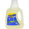 Earth Friendly Products Ecos Ultra 2x All Natural Laundry Detergent - Lemongrass - Case of 4 - 100 fl oz HGR 285445