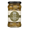 Cracked Green Olives - Case of 6 - 6.14 oz..
