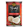 Thai Kitchen Organic Lite Coconut Milk - Case of 12 - 13.66 Fl oz.. HGR0298216