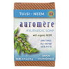soaps and hand sanitizers: Auromere - Ayurvedic Bar Soap Tulsi-Neem - 2.75 oz