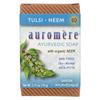 Auromere Ayurvedic Bar Soap Tulsi-Neem - 2.75 oz HGR 0301358