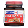 Red Star Nutritional Yeast Nutritional Yeast Yeast - Active - Dry - Case of 12 - 4 oz. HGR 0305813