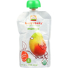 snacks: Happy Baby - Food - Organic - Starting Solids - Stage 1 - Mangos - 3.5 oz - case of 16