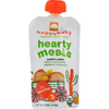 snacks: Happy Baby - Organic Baby Food Stage 3 Gobble Gobble - 4 oz - Case of 16