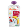 Happy Baby Organic Baby Food - Stage 2 - Banana Beets and Blueberry - Case of 16 - 3.5 oz HGR 0310367
