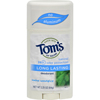Tom's of Maine Natural Deodorant Aluminum Free Mine WooDisplayice - 2.25 oz - Case of 6 HGR 0320564