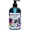 soaps and hand sanitizers: Pure Life - Shampoo Wild Indigo - 14.9 fl oz
