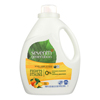 Seventh Generation Natural Laundry Detergent - Fresh Citrus - Case of 4 - 100 Fl oz.. HGR 0326595