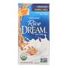 Rice Dream Original Rice Drink - Enriched Organic - Case of 8 - 64 Fl oz.. HGR 0333518