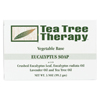 soaps and hand sanitizers: Tea Tree Therapy - Eucalyptus Soap Vegetable Base - 3.5 oz