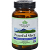 Vitamins OTC Meds Sleep Aids: Organic India - Peaceful Sleep - Organic - 90 Vegetarian Capsules