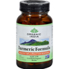 Herbal Homeopathy Herbal Formulas Blends: Organic India - Turmeric - 90 Vegetarian Capsules