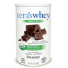 Tera's Whey Protein Powder - Whey - Organic - Fair Trade Certified Dark Chocolate Cocoa - 12 oz HGR 0337592