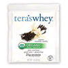 Tera's Whey Protein Powder - Whey - Organic - Bourbon Vanilla - 1 oz - Case of 12 HGR 0337972