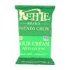Potato Chips - Sour Cream and Onion - Case of 12 - 8.5 oz..