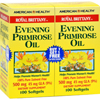 American Health Royal Brittany Evening Primrose Oil 100+100 Softgels HGR 0340067