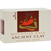soaps and hand sanitizers: Zion Health - Clay Soap - Mountain Rain - 6 oz