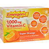 Energy Drink Medicines: Alacer - Emergen-C 1000 mg Vitamin C - Super Orange - 30 Packet