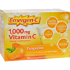 Vitamins OTC Meds Vitamin C: Alacer - Emergen-C Vitamin C Fizzy Drink Mix Tangerine - 1000 mg - 30 Packets