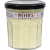 Clean and Green: Mrs. Meyer's - Soy Candle - Lavender - Case of 6 - 7.2 oz Candles