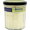 Clean and Green: Mrs. Meyer's - Soy Candle - Lemon Verbena - Case of 6 - 7.2 oz Candles