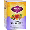 Yogi Teas Kava Stress Relief Herbal Tea Caffeine Free - 16 Bag - Case of 6 HGR 355131