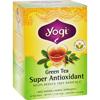 Green Tea Super Anti-Oxidant - 16 Tea Bags - Case of 6