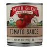 Muir Glen Organic Regualr Tomato Sauce - Case of 24 - 8 fl oz. HGR 0358648