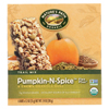 Nature's Path Organic Flax Plus Granola Bar - Pumpkin-N-Spice - Case of 6 - 7.4 oz.. HGR 0362632