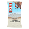 Clif Bar Organic Coconut Chocolate Chip - Case of 12 - 2.4 oz. HGR 0365924