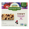 Cascadian Farm Organic Chewy Granola Bars - Harvest Berry - Case of 12 - 7.4 oz. HGR 0367110