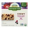 Cascadian Farm Organic Chewy Granola Bars - Harvest Berry - Case of 12 - 7.4 oz. HGR 0367110