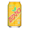 Zevia Soda - Zero Calorie - Lemon Lime Twist - Can - 6/12 oz.. - case of 4 HGR 0371559