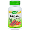 Herbal Homeopathy Single Herbs: Nature's Way - Cayenne and Pepper - 450 mg - 100 Capsules